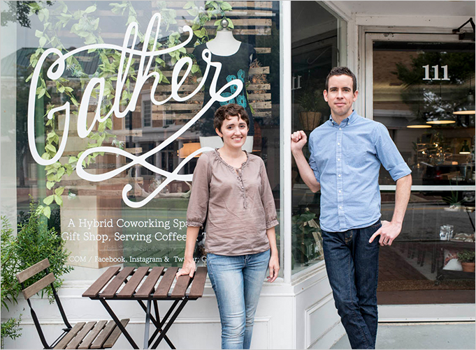 Gather: Coworking, Gift Shop, Coffee Shop, Classes in Cary, NC
