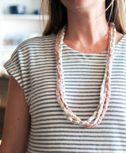 Braided Necklace at Gather