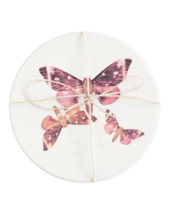 Ceramic Moth Coaster at Gather